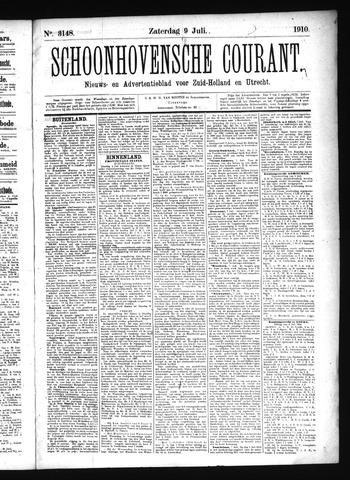 Schoonhovensche Courant 1910-07-09