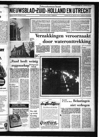 Schoonhovensche Courant 1977-12-21