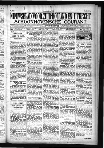 Schoonhovensche Courant 1928-07-11