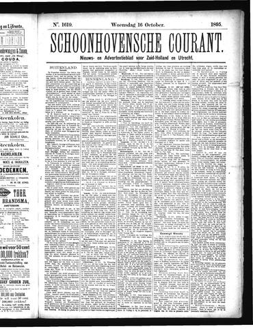 Schoonhovensche Courant 1895-10-16