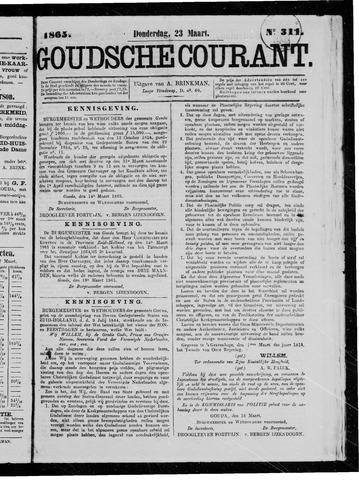 Goudsche Courant 1865-03-23