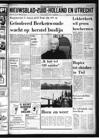 Schoonhovensche Courant 1974-07-08
