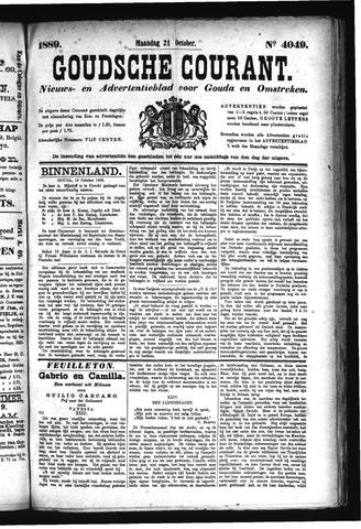 Goudsche Courant 1889-10-21