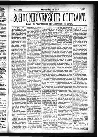 Schoonhovensche Courant 1897-07-28