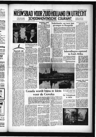 Schoonhovensche Courant 1953-08-28