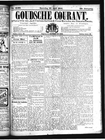 Goudsche Courant 1914-04-25