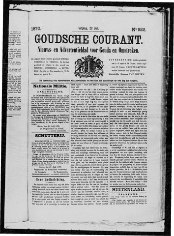 Goudsche Courant 1870-07-22
