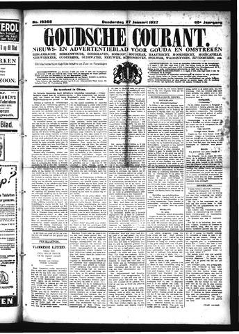 Goudsche Courant 1927-01-27