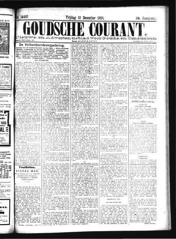 Goudsche Courant 1920-12-10