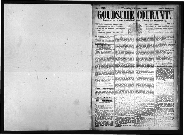 Goudsche Courant 1908-01-01