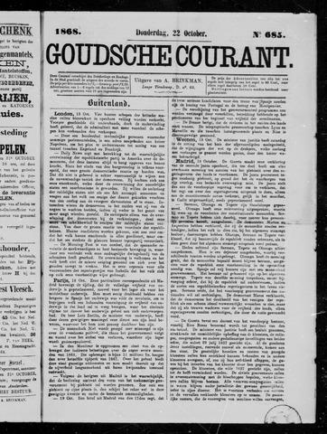 Goudsche Courant 1868-10-22