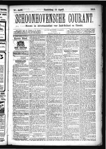 Schoonhovensche Courant 1913-04-12