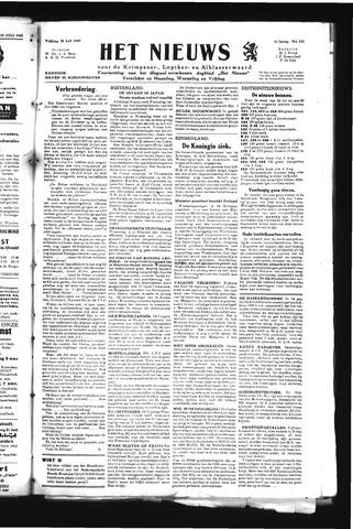 Schoonhovensche Courant 1945-07-20