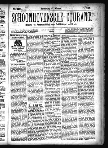 Schoonhovensche Courant 1897-03-27