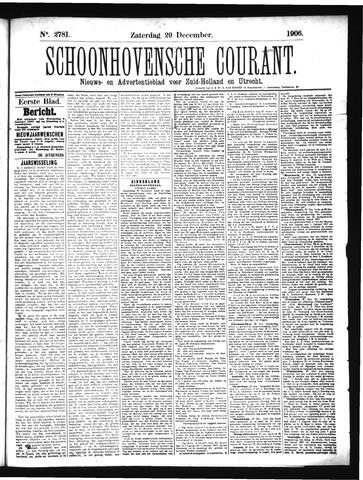 Schoonhovensche Courant 1906-12-29