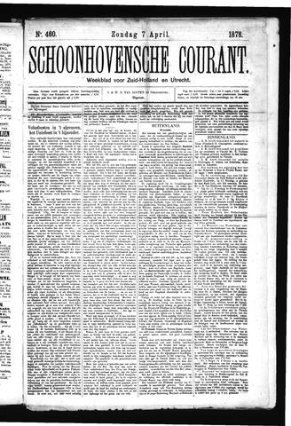 Schoonhovensche Courant 1878-04-07