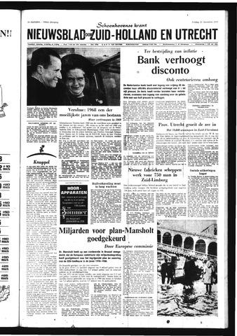 Schoonhovensche Courant 1968-12-20