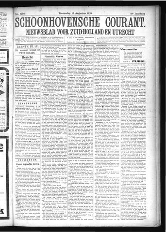 Schoonhovensche Courant 1925-08-12