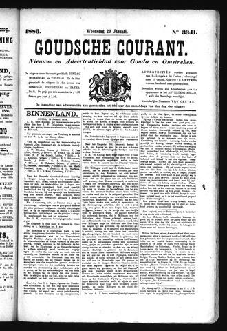 Goudsche Courant 1886-01-20