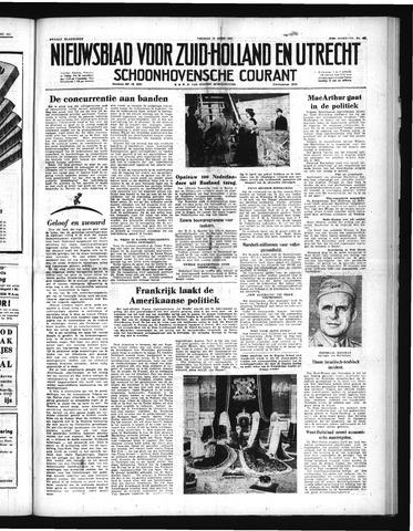 Schoonhovensche Courant 1951-04-13