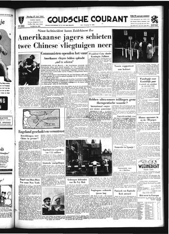 Goudsche Courant 1954-07-27