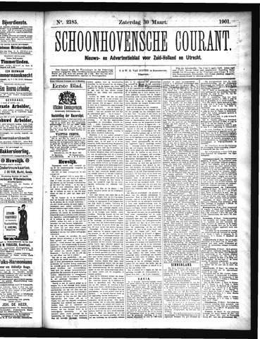 Schoonhovensche Courant 1901-03-30