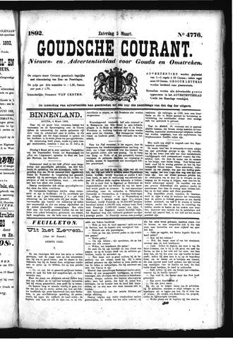 Goudsche Courant 1892-03-05
