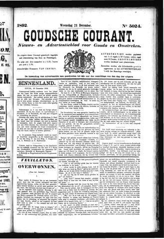 Goudsche Courant 1892-12-21