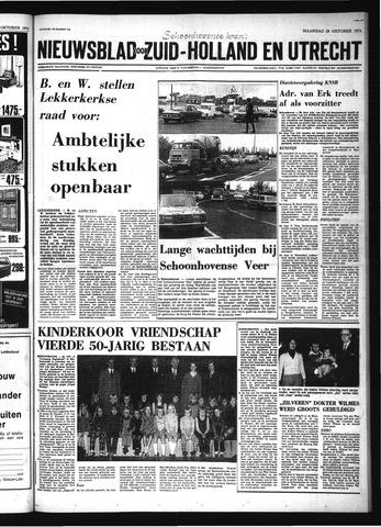 Schoonhovensche Courant 1974-10-28