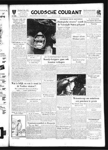 Goudsche Courant 1954-01-09