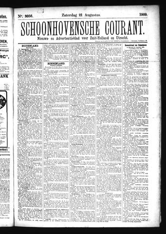 Schoonhovensche Courant 1909-08-21