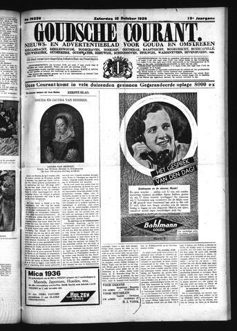 Goudsche Courant 1936-10-10