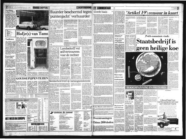 Goudsche Courant 1985-08-29
