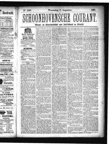 Schoonhovensche Courant 1897-08-11