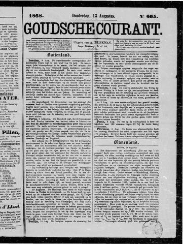 Goudsche Courant 1868-08-13