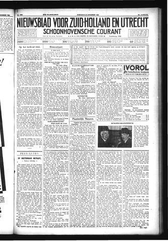 Schoonhovensche Courant 1933-11-22