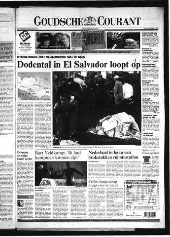 Goudsche Courant 2001-01-15