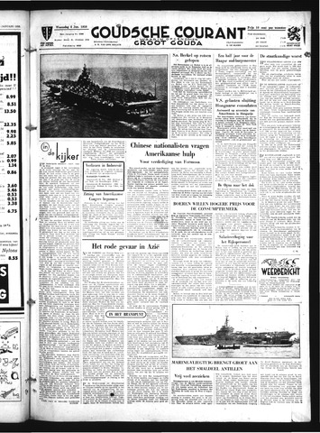 Goudsche Courant 1950-01-04