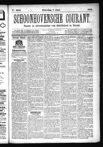 Schoonhovensche Courant 1912-06-08