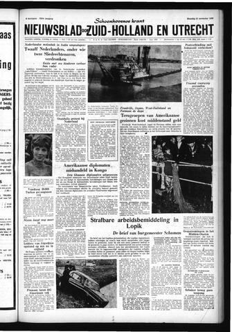 Schoonhovensche Courant 1960-11-21