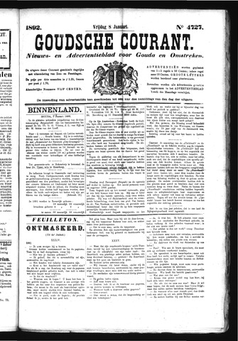 Goudsche Courant 1892-01-08