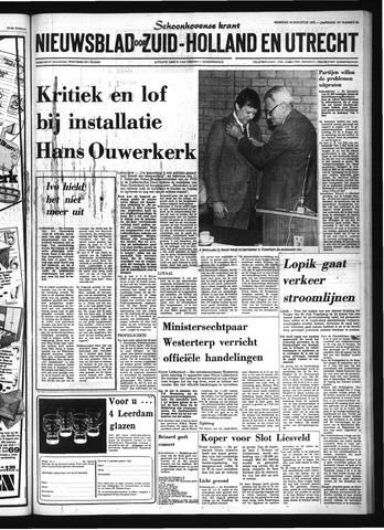 Schoonhovensche Courant 1976-08-16