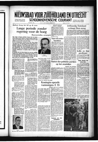 Schoonhovensche Courant 1955-05-18