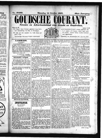 Goudsche Courant 1907-10-14