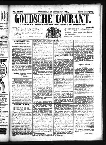 Goudsche Courant 1910-11-10