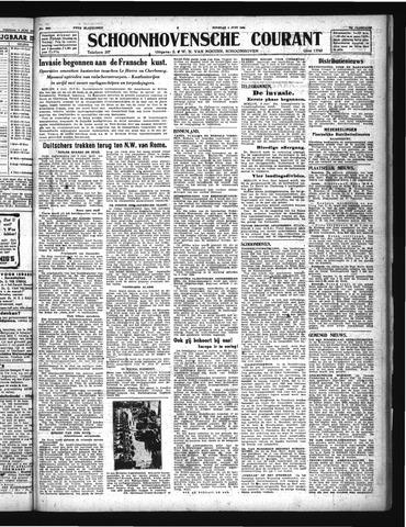 Schoonhovensche Courant 1944-06-06