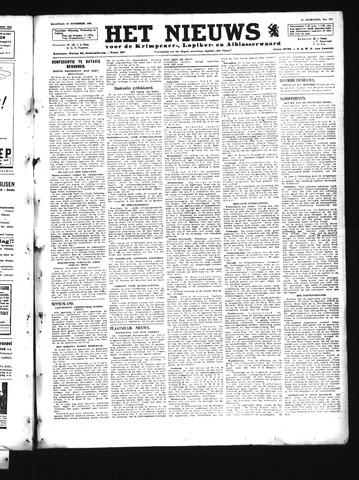 Schoonhovensche Courant 1945-11-19