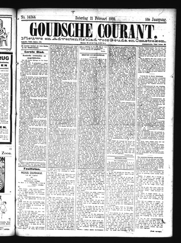 Goudsche Courant 1920-02-21