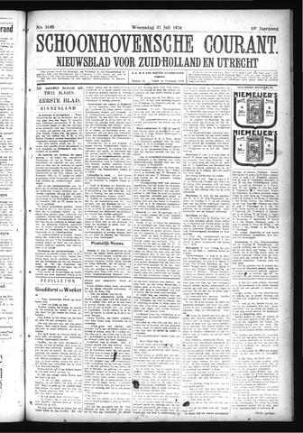 Schoonhovensche Courant 1926-07-21