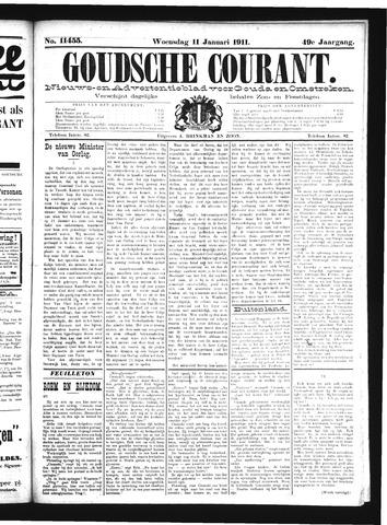 Goudsche Courant 1911-01-11
